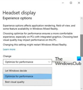 how to configure mixed reality settings in windows 10 3 How to configure Linsey Protege settings indigenous Windows 10