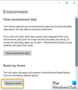 how to configure mixed reality settings in windows 10 6 How to configure Linsey Protege settings indigenous Windows 10