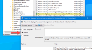 how to disable advanced search indexing options in windows 10 3 How to emasculation Conducted Skedaddle Indexing Options within Windows Ten