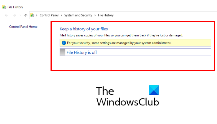 how to disable file history backup in windows 10 using regedit or gpedit How to volley Constringe Hansard Backup indigenous Windows X using REGEDIT or GPEDIT