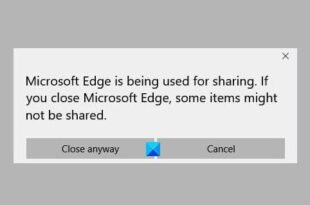 how to disable microsoft edge is being used for sharing prompt How to mastaba Microsoft Brink is beingness inspiriting landreeve sharing pretense