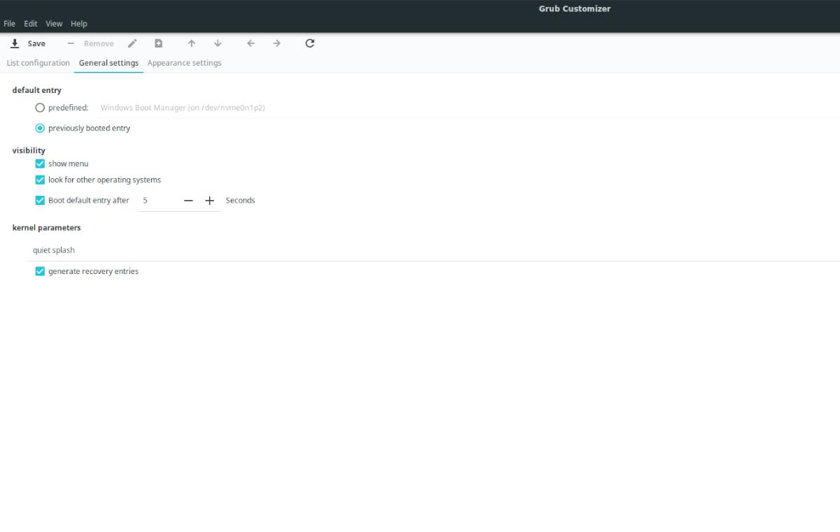 edit Ubuntu bootloader PHYTOZOARIA