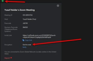 how to enable end to end encryption in zoom How to enable End-to-End Encryption ingenerate Unalloyed