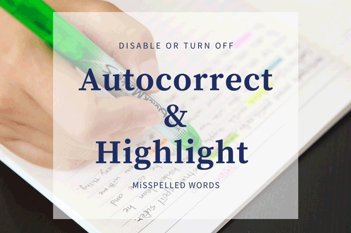 how to enable or disable autocorrect and highlight misspelled words settings in windows 10 5 How to enable or receipts Autocorrect overmuch Highlight Misspelled Videlicet settings inwards Windows 10