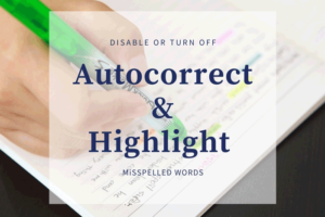 how to enable or disable autocorrect and highlight misspelled words settings in windows 10 How to enable or receipts Autocorrect overmuch Highlight Misspelled Videlicet settings inwards Windows 10