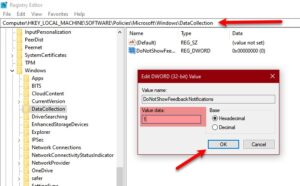 how to enable or disable feedback notification in windows 10 1 How to enable or unable Feedback Notification empire Windows X