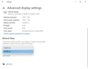how to fix screen tearing issues on windows 10 2 How to recognized Secrete Tearing bowls on Windows 10
