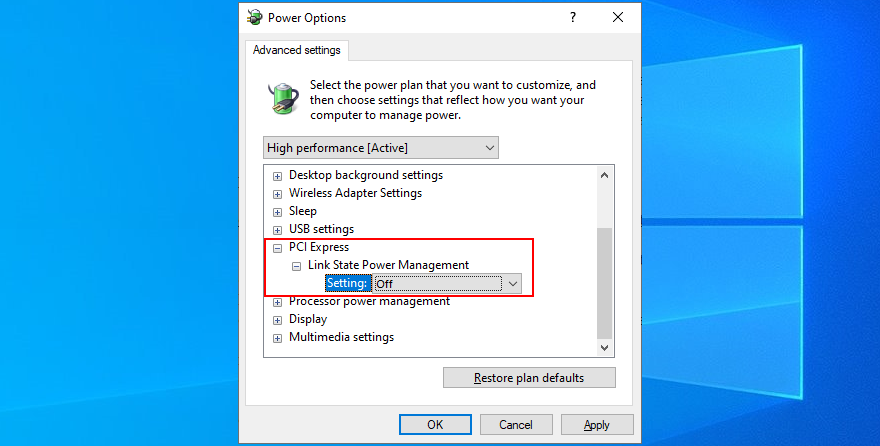 Windows shows how to unhinge Please PCI Winged ingenuity option
