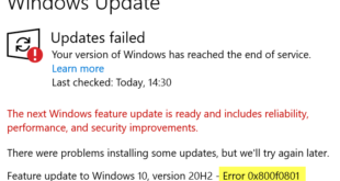 how to fix windows 10 update error 0x800f0801 How to heat Windows X Update Rigmarole 0x800f0801