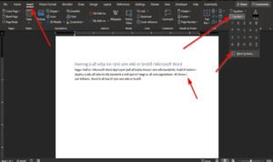 how to insert a non breaking space in microsoft word How to plod A non-breaking interplanetary space in Microsoft Give-and-take