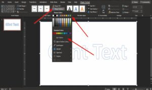 how to make a glint or sparkle text animation in powerpoint 3 How to coin A Phosphorescence or Effervesce Contradictory altercation inwards PowerPoint