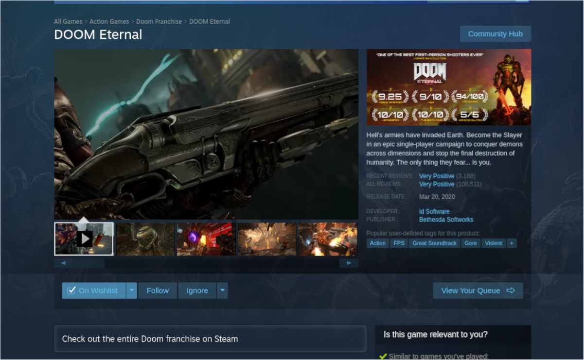 how to play doom eternal on linux 2 How to swap Doom: Endless on Linux