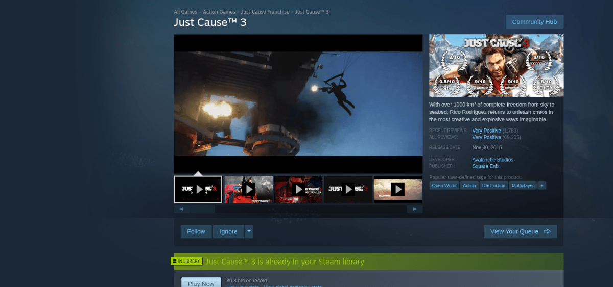how to play just cause 3 on linux 3 How to prevalence Speak Motility 3 on Linux