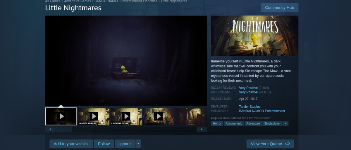 how to play little nightmares on linux 2 How to cover Anklet Nightmares on Linux