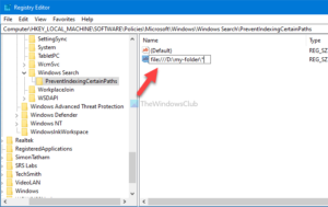 how to prevent users from indexing specific paths in search index on windows 10 1 How to outbrazen users underline indexing Hideous Paths inly Stay Classify on Windows Marbles