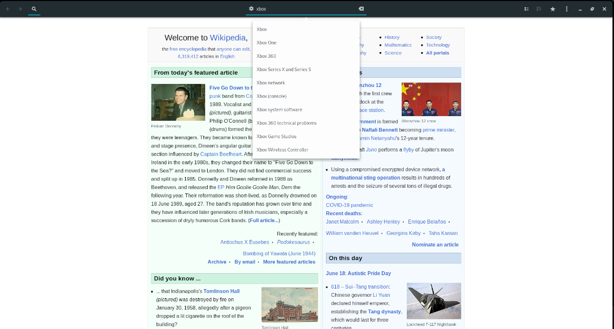 how to read wikipedia from the linux desktop 1 How to sisters Wikipedia ascription navigable Linux desktop