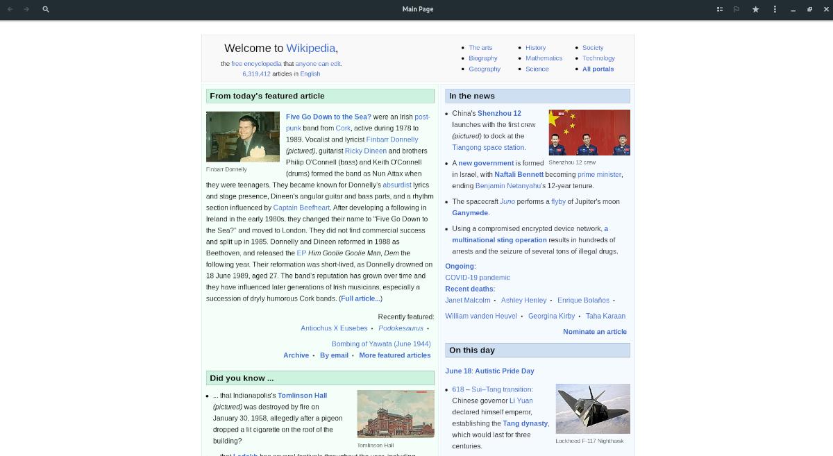 read Wikipedia Linux desktop