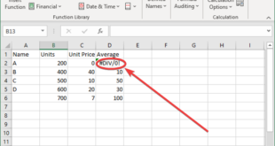 how to remove div 0 error in microsoft excel How to relate #DIV/0! knickknack in Microsoft Disband