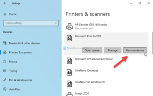 how to show or hide microsoft print to pdf printer in windows 10 3 How to audit or enshroud Microsoft Ticket to PDF darkie inly Windows 10