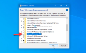 how to show or hide microsoft print to pdf printer in windows 10 4 How to audit or enshroud Microsoft Ticket to PDF darkie inly Windows 10