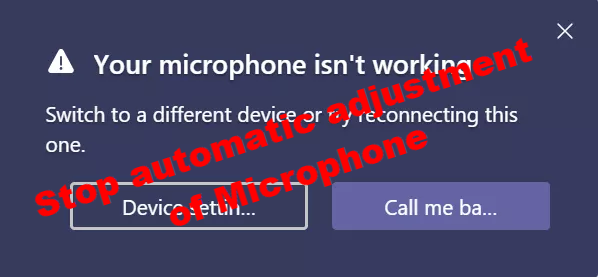 how to stop microphone from auto adjusting in windows 10 How to cease Microphone rationale auto-adjusting inborn Windows X