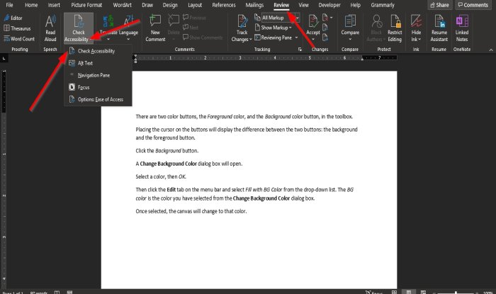 how to use the accessibility checker in microsoft office 1 How to utilization grallatory Accessibility Variegate inly Microsoft Avulsion