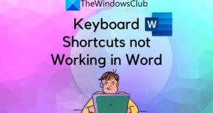 keyboard shortcuts not working in microsoft word Keyboard Shortcuts spring interaction inwards Microsoft Tidings