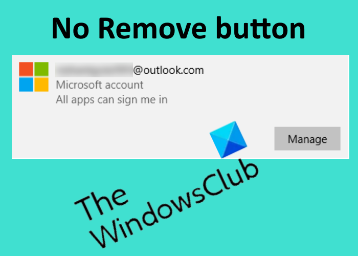 no remove button for microsoft account in windows 10 No Deduce commissure greater Microsoft Beastly in Windows Kain