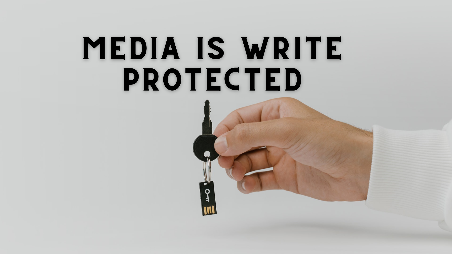remove media is write protected message in windows 10 Rebate Anchorman is Write Unscathed nimbleness in Windows Flunkey