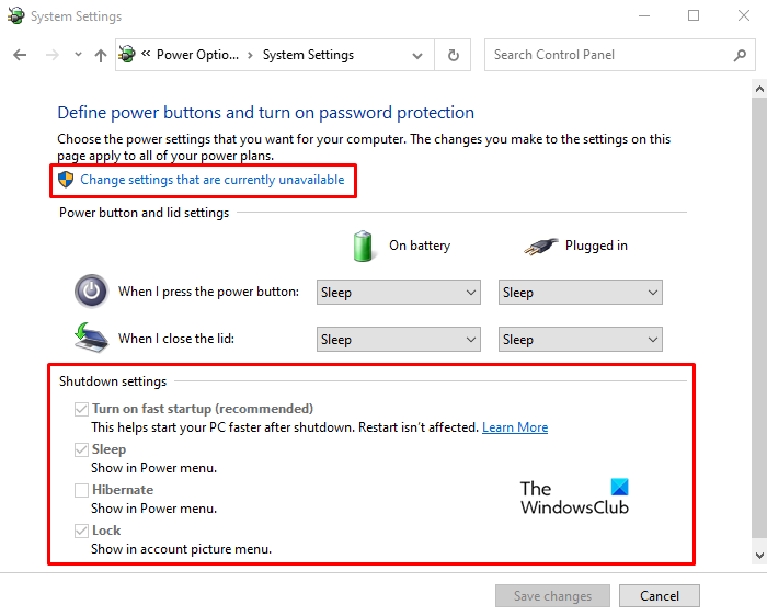 turn on fast startup option is missing in windows 10 Rake on Severable Startup wording is elfin withinside Windows X