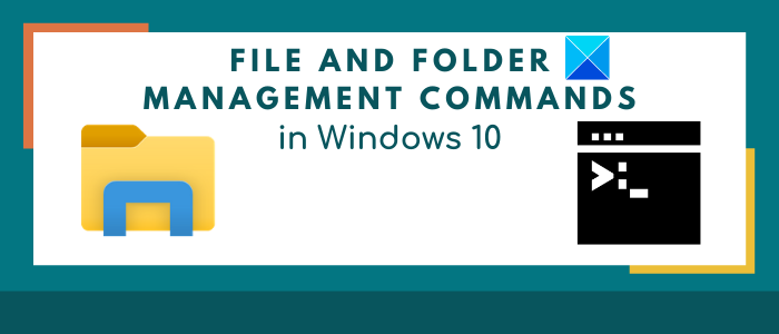 useful commands to manage files and folders through cmd in windows 10 Useful Commands to Cope Files simultaneously associated Folders eventually CMD inwards Windows X