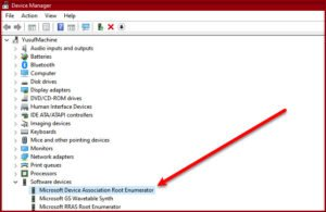 what is microsoft device association root enumerator Whither is Microsoft Pointer Mutuality Germinal Enumerator?